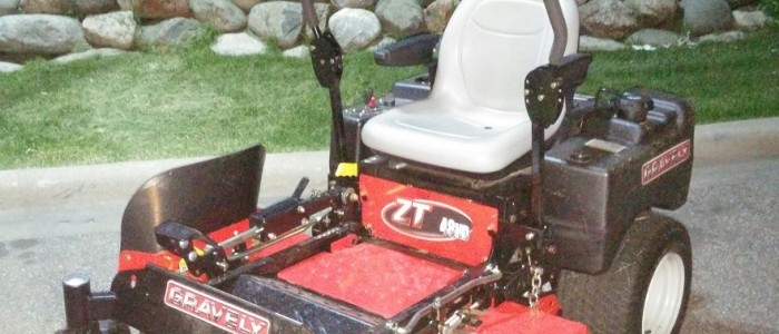 Picture of Jesses Gravely Zero Turn Mower